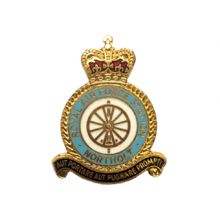 Royal Air Force RAF Station Northolt Lapel Badge